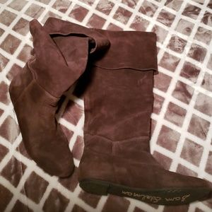 Sam Edelman suede boots size6.5
